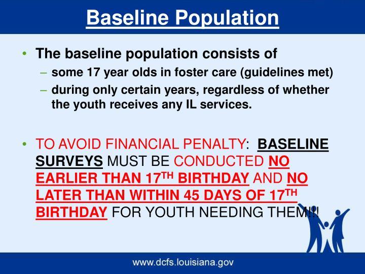 Baseline Population