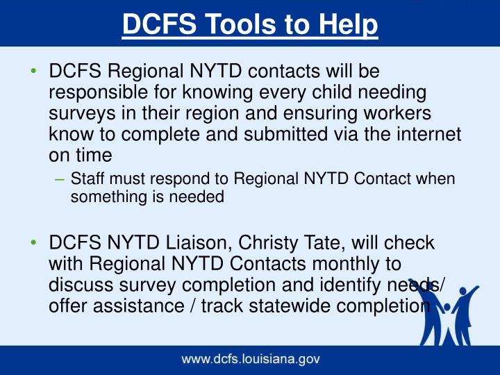 DCFS Tools to Help