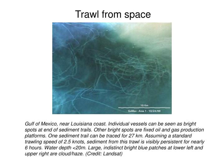 Trawl from space
