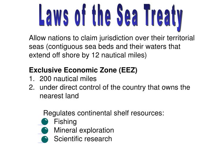 Laws of the Sea Treaty