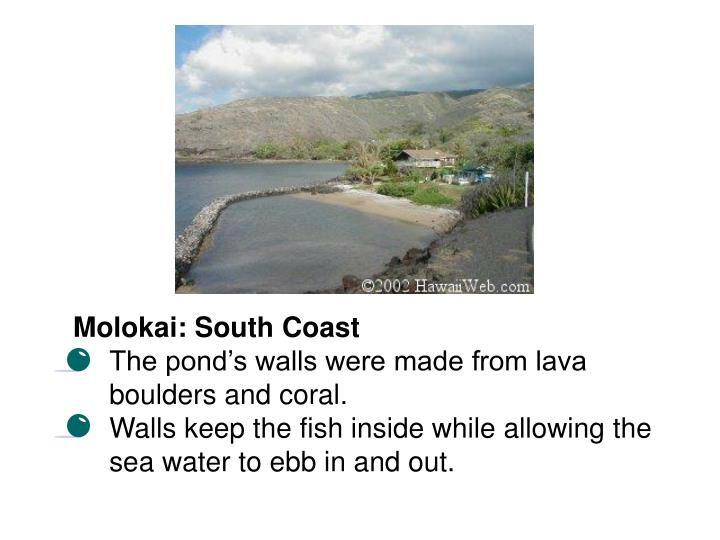 Molokai: South Coast