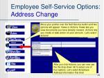 employee self service options address change1