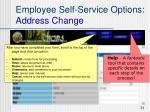 employee self service options address change4