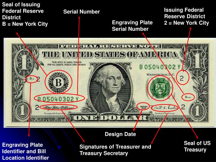 Ppt The Anatomy Of A Dollar Bill Powerpoint Presentation Id6622444