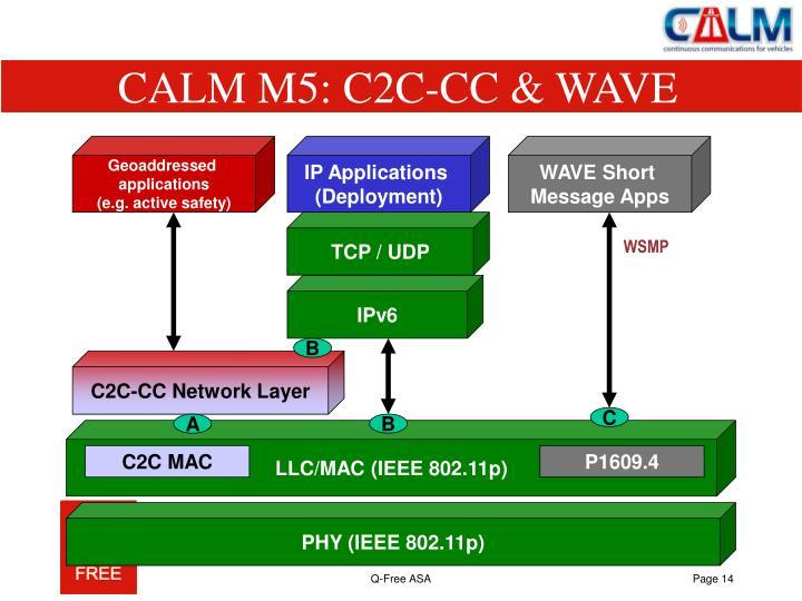 CALM M5: C2C-CC & WAVE