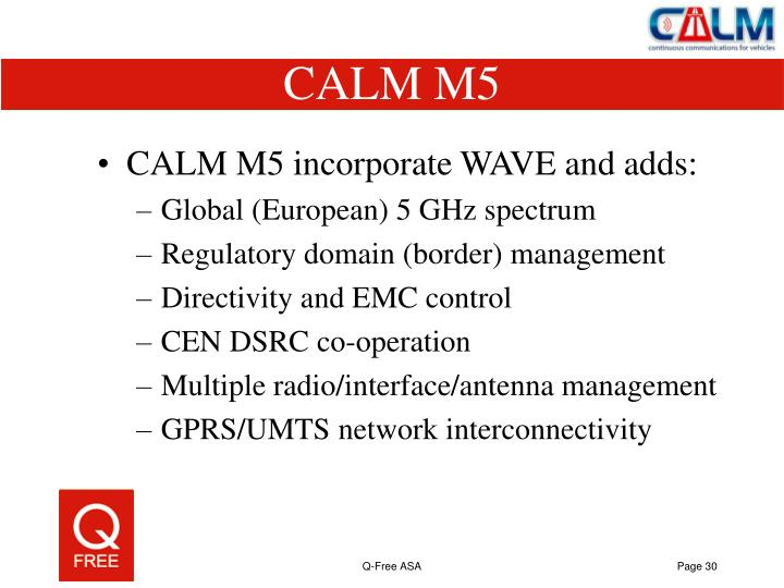 CALM M5