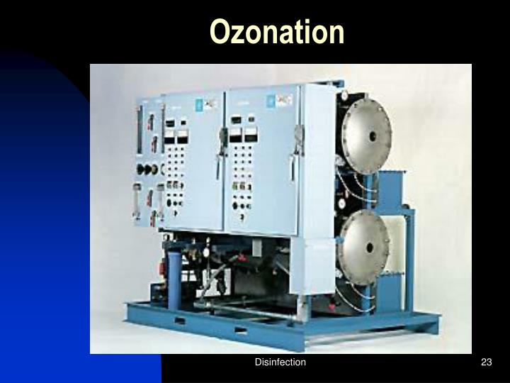 Ozonation