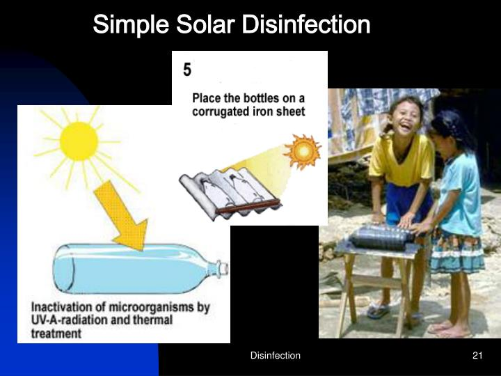 Simple Solar Disinfection