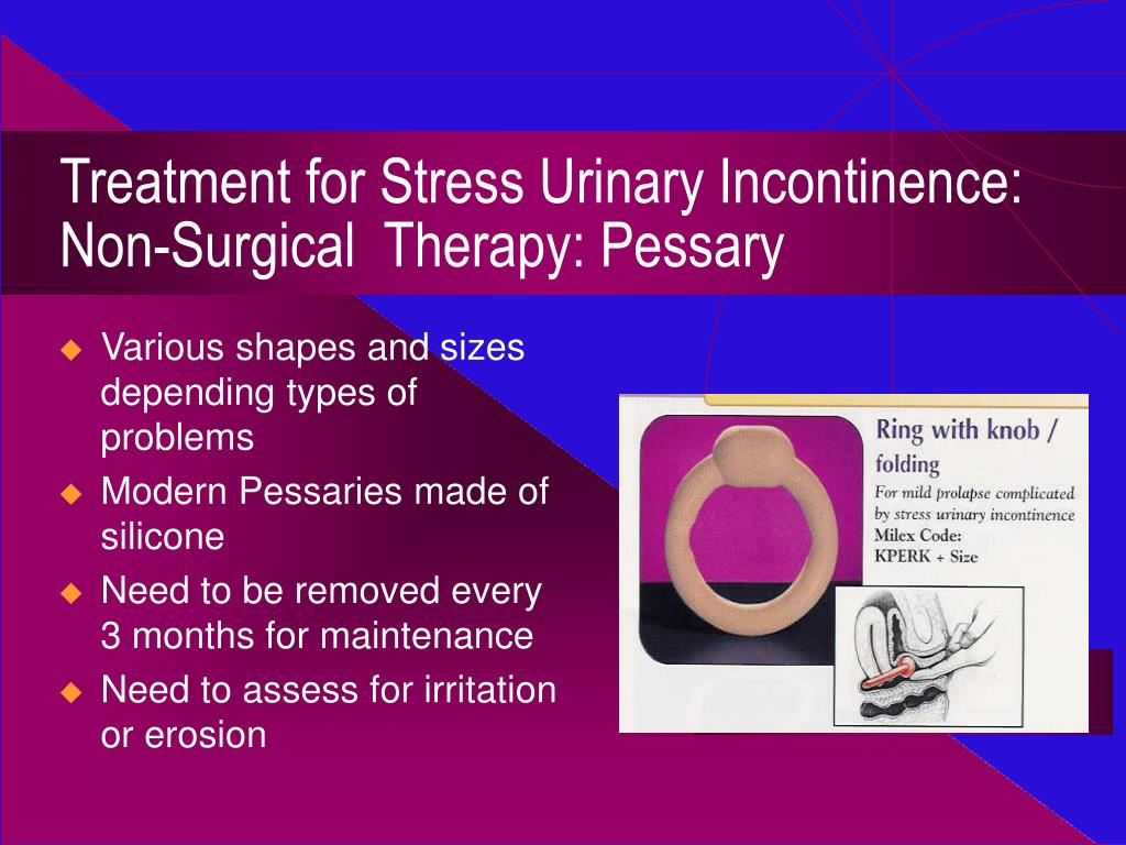 PPT - Urinary Incontinence: Diagnosis and Management ...