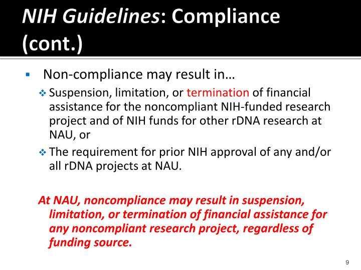 NIH Guidelines