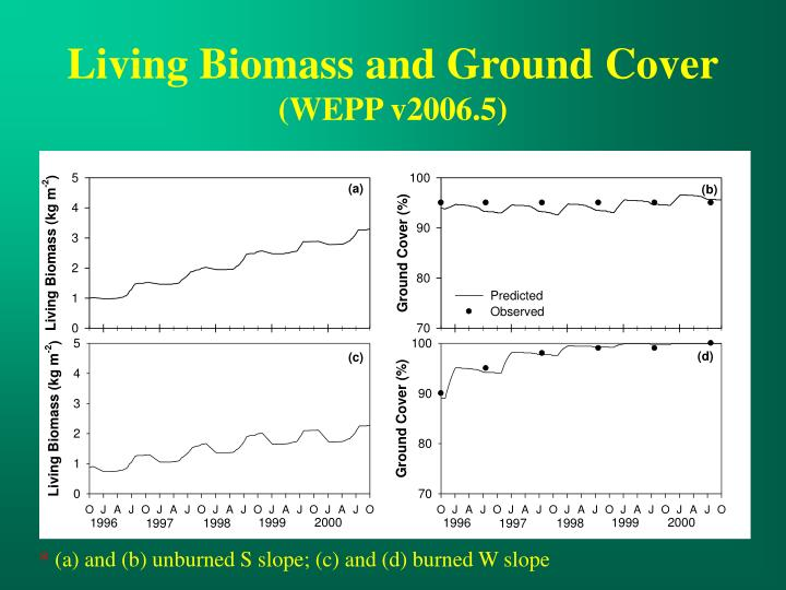 Living Biomass and Ground Cover