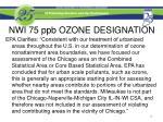 nwi 75 ppb ozone designation5