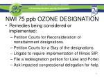 nwi 75 ppb ozone designation7