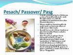 pesach passover pasg