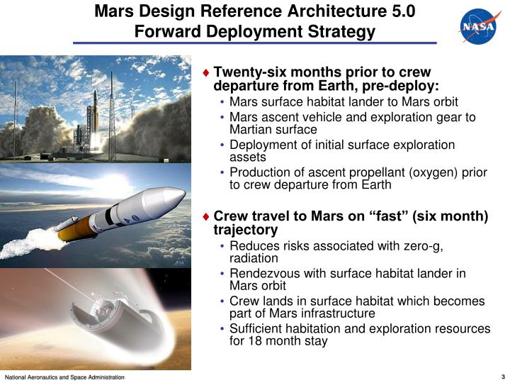 Mars design reference architecture 5 0 forward deployment strategy