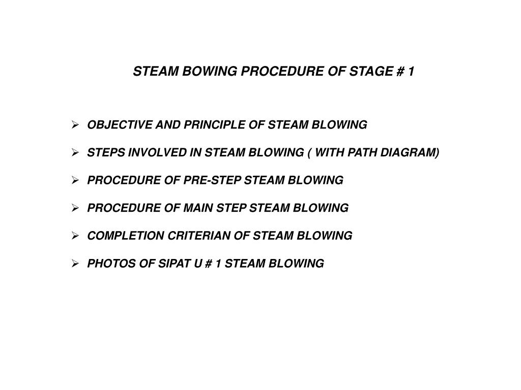 Ppt Objective And Principle Of Steam Blowing Steps Involved In Diagrams Collection For Powerpoint Presentations Download Now