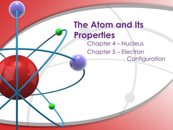 the atom and its properties n.