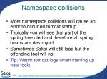 namespace collisions