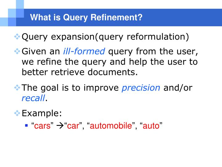 What is Query