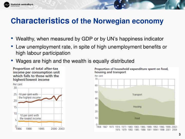 C haracteristics of the norwegian economy