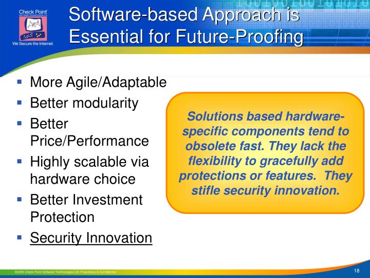 Software-based Approach is