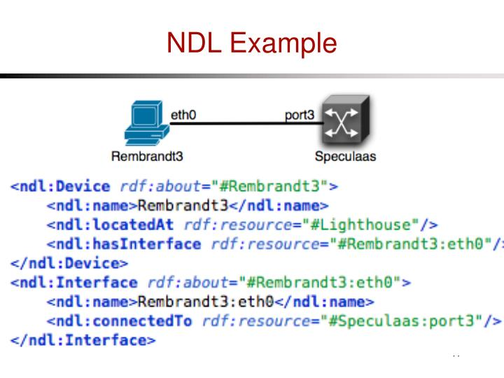 NDL Example