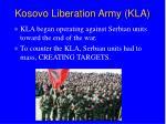 kosovo liberation army kla