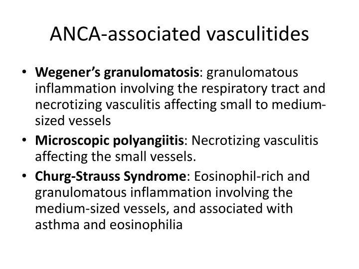 ANCA-associated vasculitides