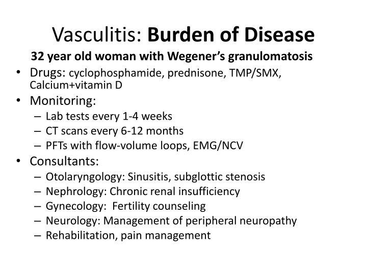 Vasculitis: