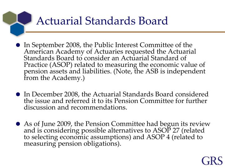 Actuarial Standards Board