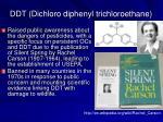 ddt dichloro diphenyl trichloroethane