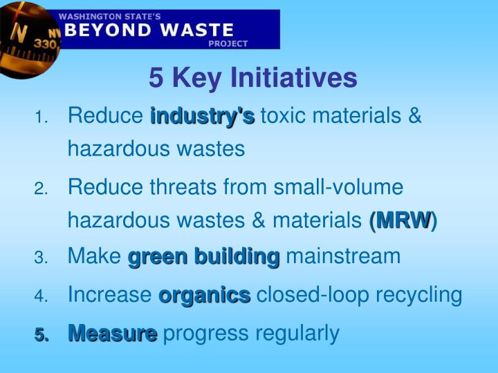 5 Key Initiatives