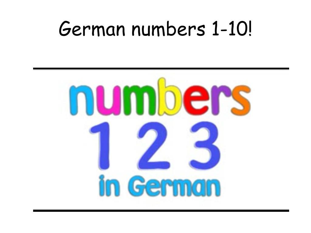 PPT - German Level 1 PowerPoint Presentation - ID:6625845
