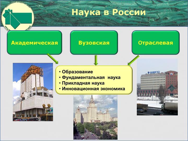 Наука в России