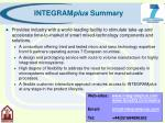 integram plus summary