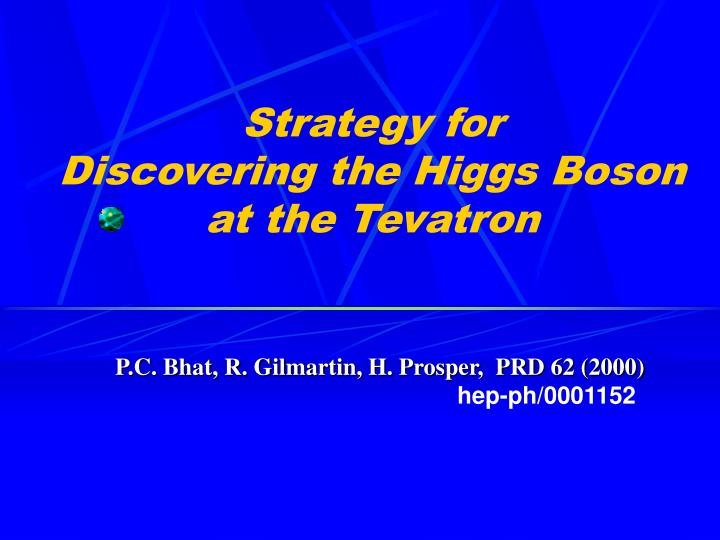 Strategy for