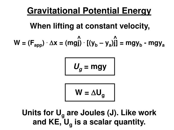 When lifting at constant velocity,
