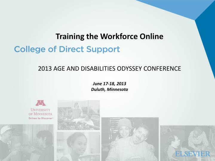 Training the Workforce Online