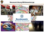 neuausrichtung milit rseelsorge