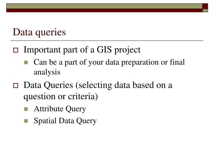 Data queries1