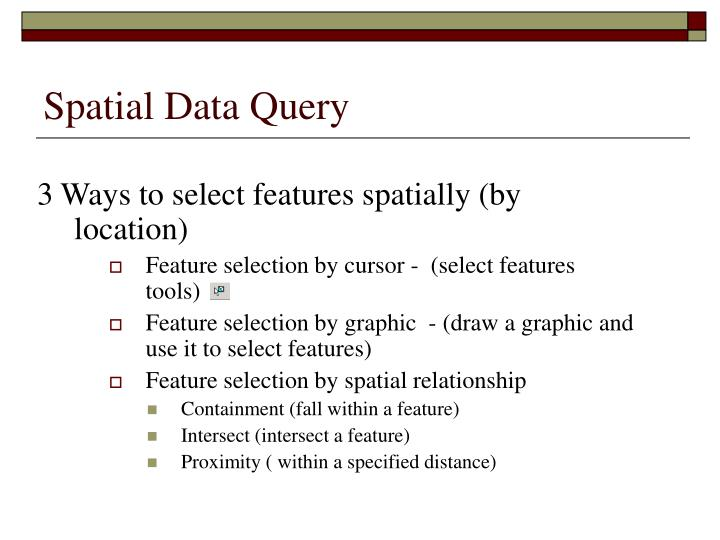 Spatial Data Query