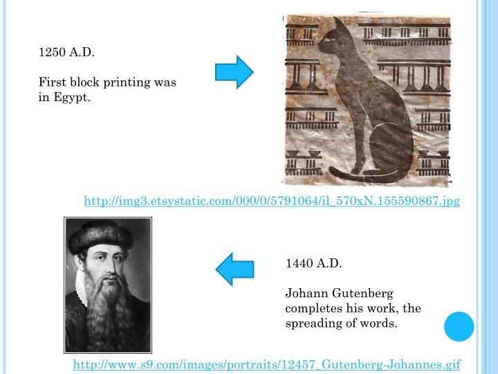 1250 A.D.