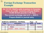 foreign exchange transaction example1