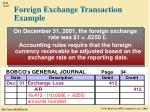 foreign exchange transaction example3