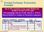 foreign exchange transaction example5
