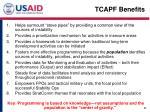 tcapf benefits