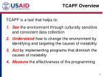 tcapf overview1