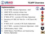 tcapf overview2