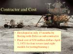 contractor and cost