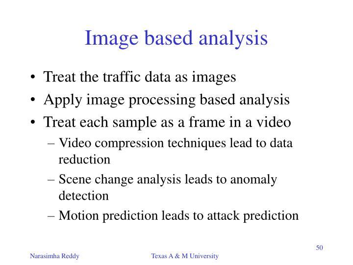 Image based analysis